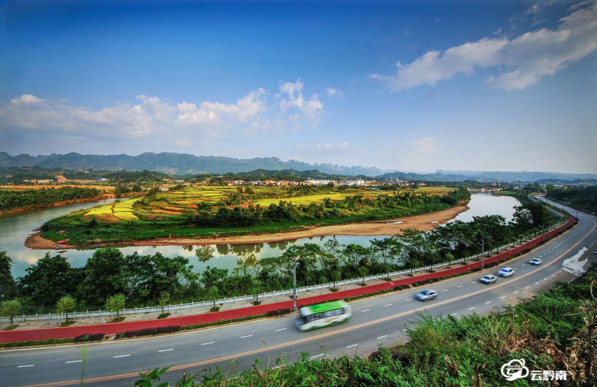 荔波着力打造樟江沿河精品水果风光带
